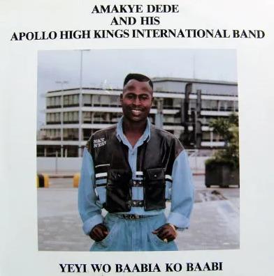 Amakye Dede And His High Kings International Band – Yeyi Wo Baabia Ko Baabi 80s GHANA Highlife Folk Music ALBUM