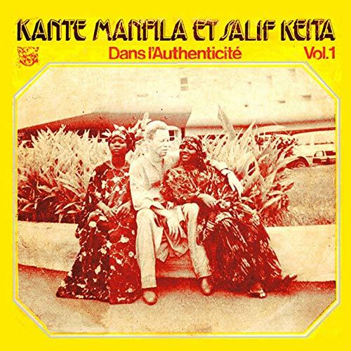 Kante Manfila Et Salif Keita – Dans L'Authenticite – Vol. 1 70s GUINEA MALI Folk Blues Music ALBUM