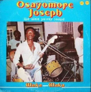 Osayomore Joseph And The Ulele Power Sound – Waka Waka 80s NIGERIAN Highlife African Music Album