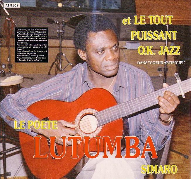 Lutumba Simaro Et Le Tout Puissant O.K. Jazz – Dans Coeur Artificiel 80s CONGO Soukous Folk Music ALBUM