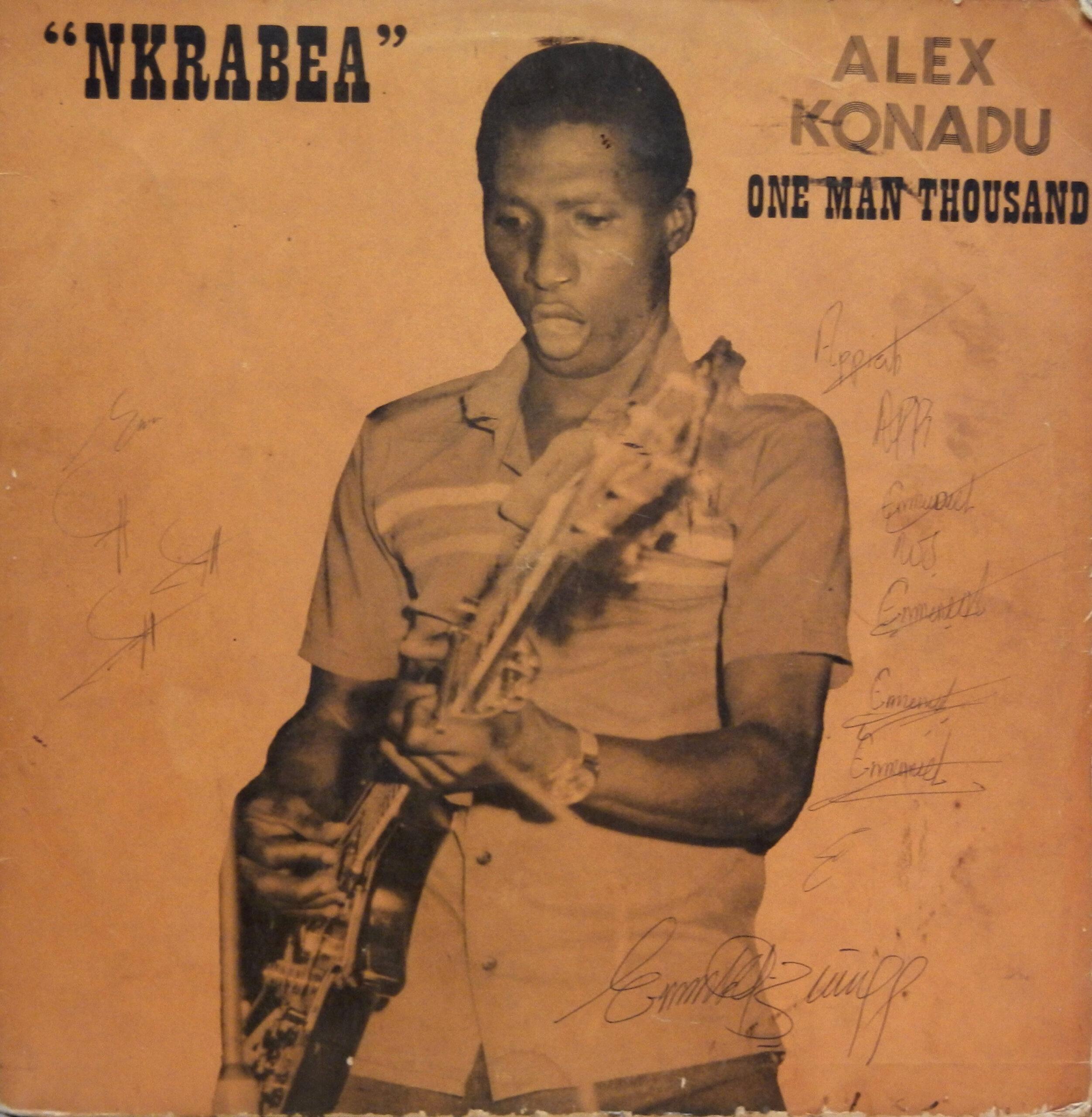 Alex Konadu One Man Thousand – Nkrabea 70s GHANA Highlife Afrobeat Music ALBUM