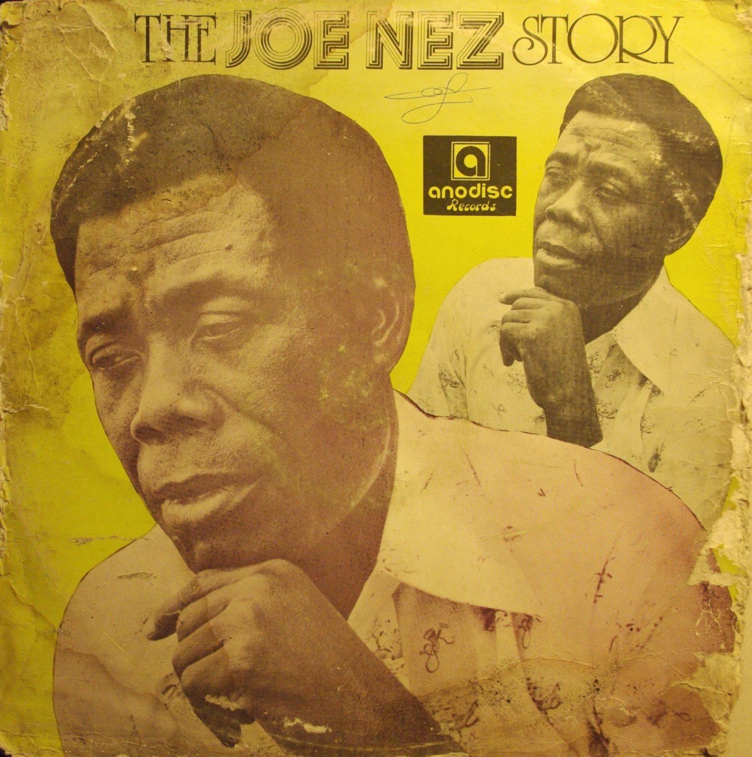 Joe Nez & His Top Six – The Joe Nez Story NIGERIAN Highlife Music Album 1976