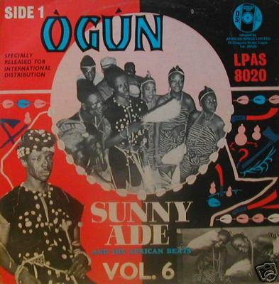 Sunny Ade And His African Beats – Vol. 6 70s NIGERIAN Juju Yoruba Highlife Music ALBUM