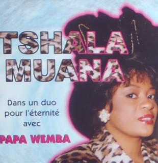 Tshala Muana – Dans Un Duo Pour L'Eternite Avec Papa Wemba CONGO Soukous Music ALBUM