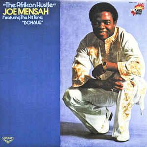 Joe Mensah – The African Hustle 70s GHANA Highlife Funk Soul Music ALBUM