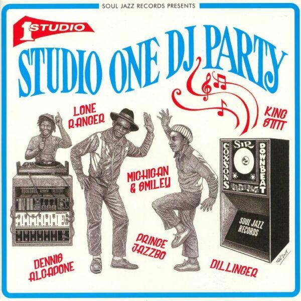 Various – Soul Jazz Records Presents Studio One Dj Party – JAMAICAN Reggae Music ALBUM Compilation