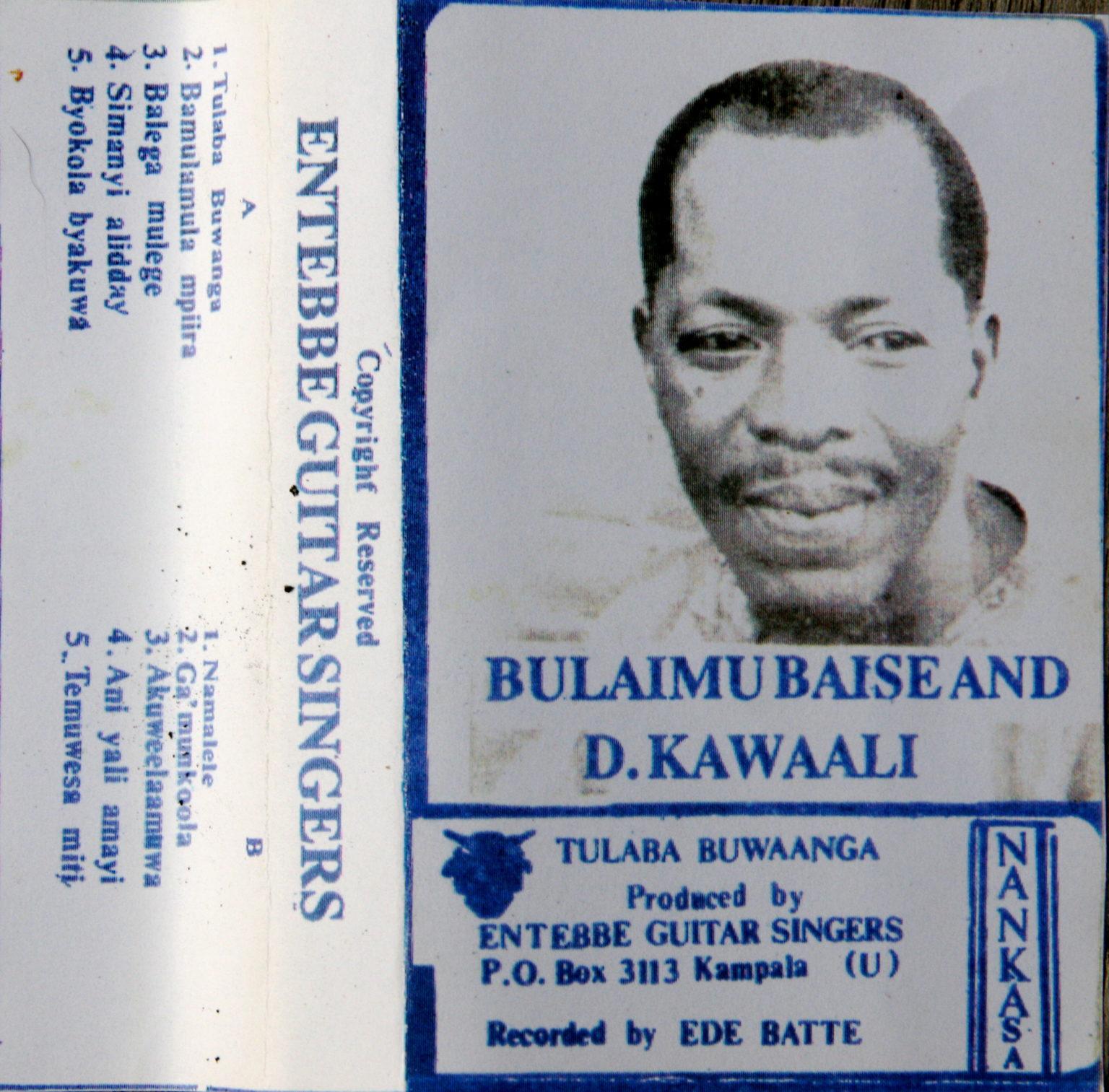 Bulaimu Blaise & D. Kawaali – Entebbe Guitar Singers UGANDA Folk Music ALBUM