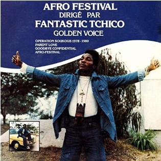 Fantastic Tchico Tchicaya – Afro Festival Dirige Par Fantastic Tchico Golden Voice 70s CONGO Music ALBUM