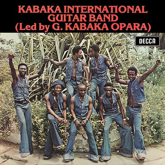 Kabaka International Guitar Band Led By G. Kabaka Opara – S/T 70s NIGERIAN Highlife Music ALBUM