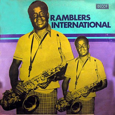 Ramblers International – S/T 70's GHANA Highlife Reggae Music ALBUM