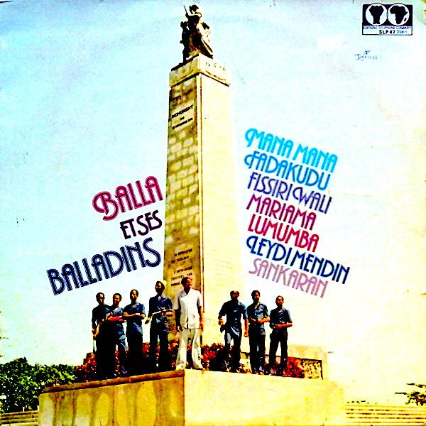 Balla Et Ses Balladins – S/T 70's GUINEA African Folk Music ALBUM