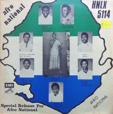 Afro National – S/T 70s SIERRA LEONE Afrobeat Funk Music ALBUM