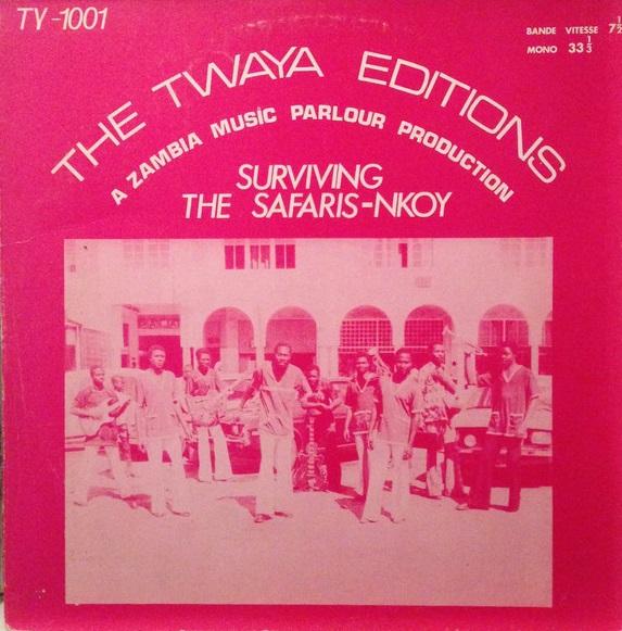 The Safaris Nkoy – Surviving The Safaris Nkoy : 70s CONGO Soukous Folk Afrobeat African Music LP