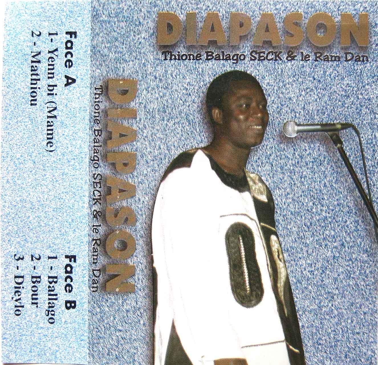 Thione Balago Seck & Le Ram Dan – Diapason Vol.1 SENEGAL Mbalax Music ALBUM