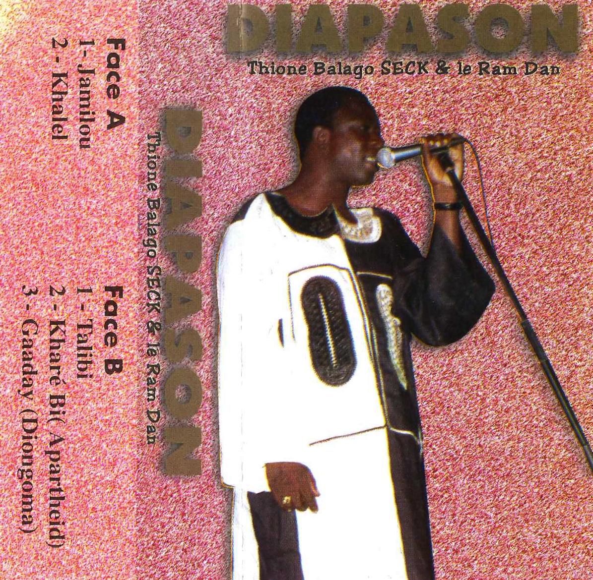 Thione Balago Seck & Le Ram Dan – Diapason Vol.2 SENEGAL Mabalax Music ALBUM