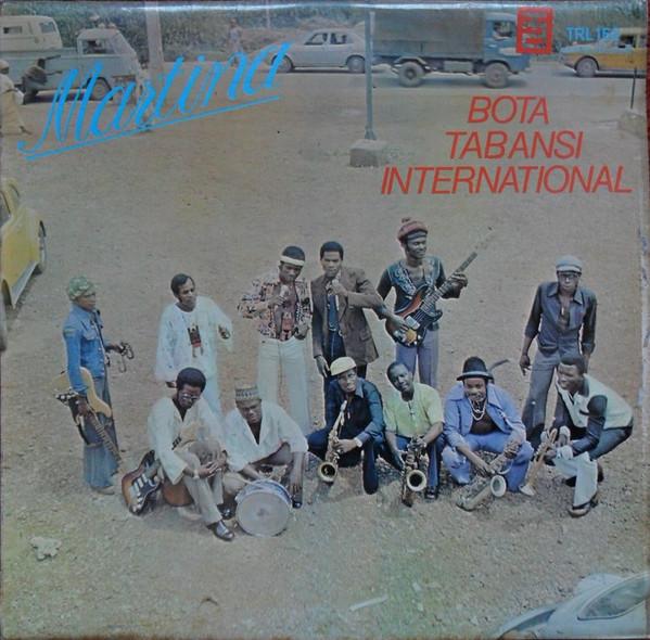 Bota Tabansi International – Martina : 70s CONGOLESE Soukous Afrobeat African Folk Music ALBUM