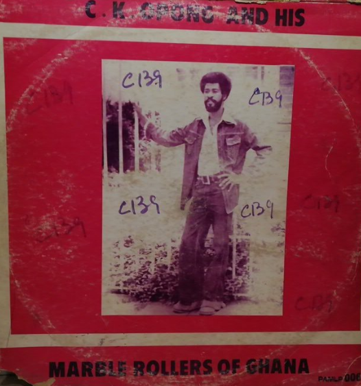 C.K. Oppong And His Marble Roller's Band Of Ghana – Untitled album lp-afrosunny-african music online-ghana