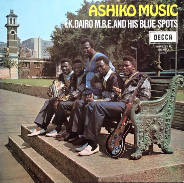 I.K. Dairo M.B.E. And His Blue Spots – Ashiko Music 70s NIGERIAN Juju African Folk Highlife Album
