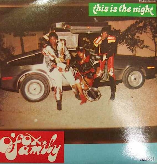 O'Fox Family – This Is The Night 80s NIGERIA Disco Funk Soul Electronic Africa Pop Music FULL Album