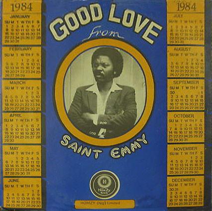 Saint Emmy – Good Good Love album lp -afrosunny-african music online nigeria