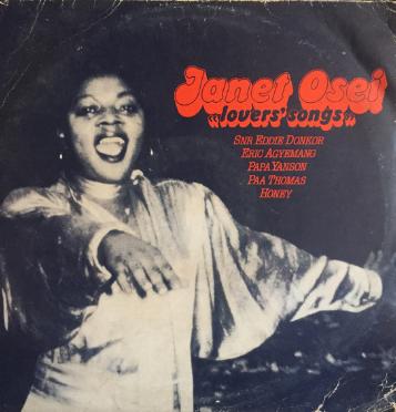 Janet Osei – Lover's Songs : 70s GHANAIAN Highlife African Music Folk Country FULL Album Band Songs