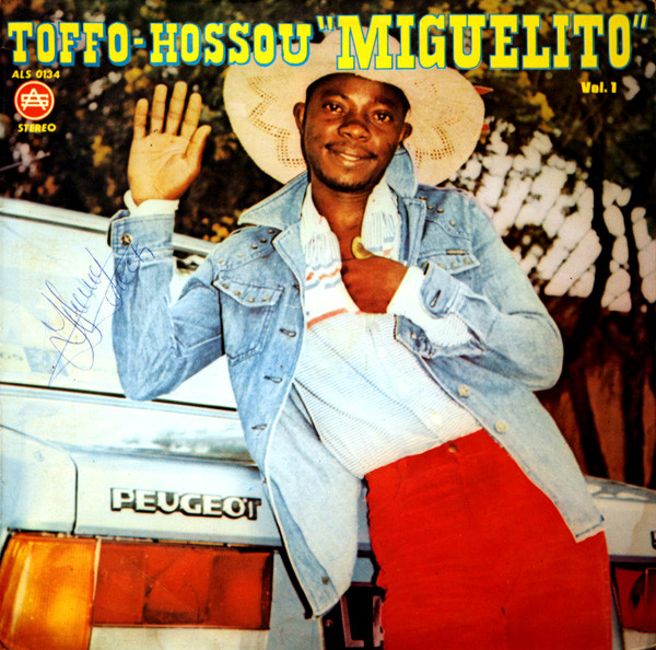 """Toffo-Houssou """"Miguelito"""" Accompagné Par Les Volcans De La Capitale Du Benin Vol1 Latin Salsa Album"""