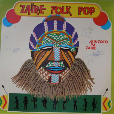 Minzoto Ya Zaïre – Zaïre Folk-Pop : 80s ZAIRE Soukous Folk Funk Soul Music Album Lp