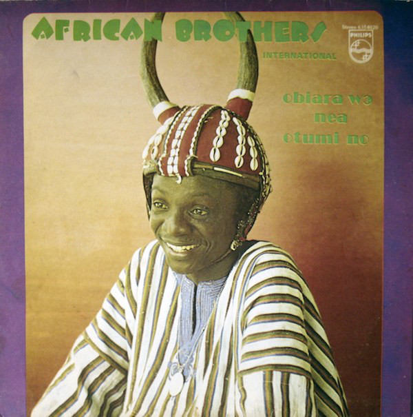 African Brothers International – Obiara Wo Nea Otumi No 70's GHANAIAN Highlife Folk Music Album Lp