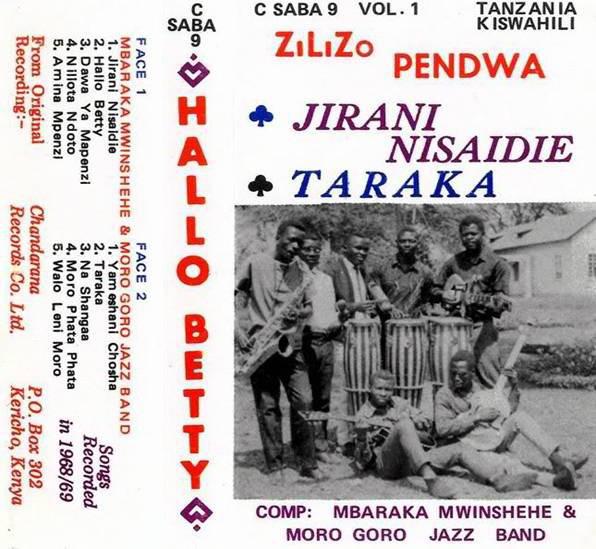 Mbaraka Mwinshehe & Moro Goro Jazz Band – Hallo Betty 60s TANZANIAN Folk African Music FULL Album