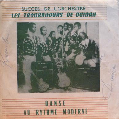 Les Troubadours De Ouidah – Succes De L'Orchestre – Danse Au Rythme Moderne 60's BENIN Folk Album