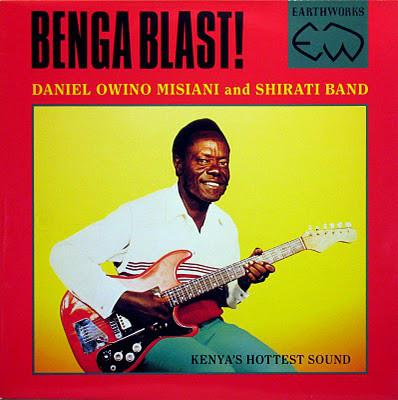 Daniel Owino Misiani And Shirati Band – Benga Blast! 80's KENYAN Benga Folk Soukous Music ALBUM LP