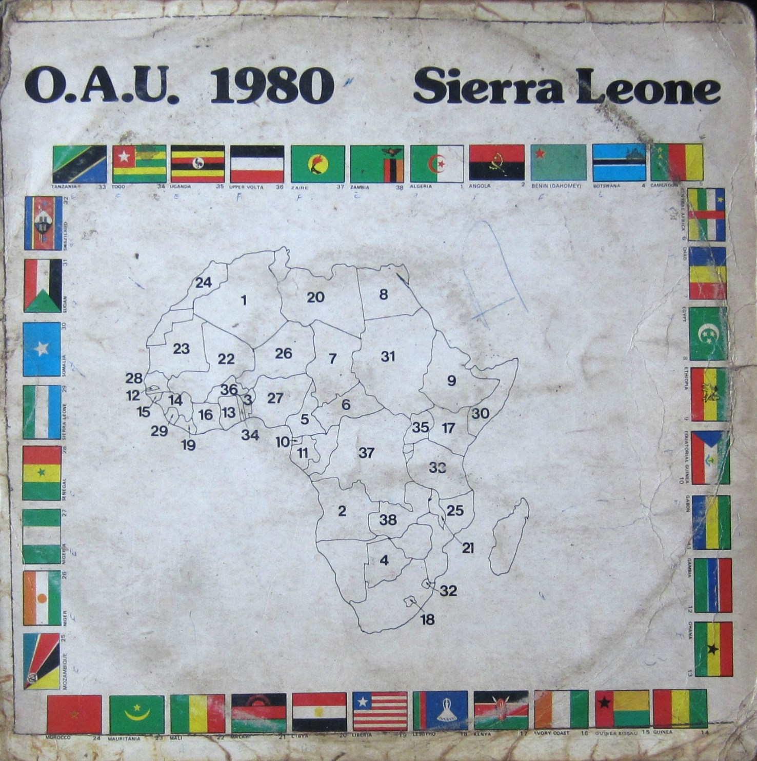 Big Fayia And The Sierra Leone Military Dance Band – O.A.U. 1980
