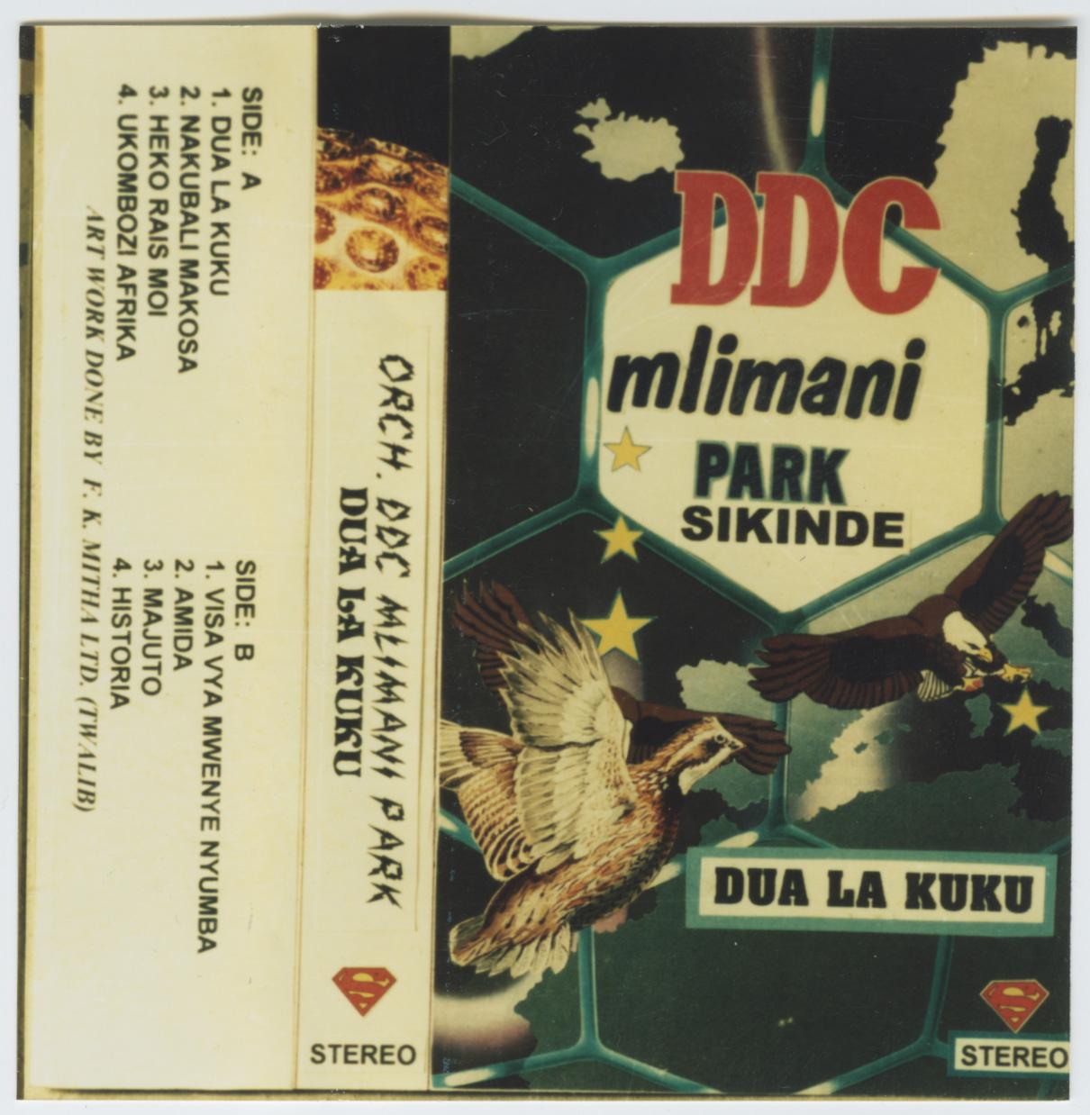 D.D.C. Mlimani Park Orchestre – Dua La Kuku 80s TANZANIAN Folk Soukous Music ALBUM LP