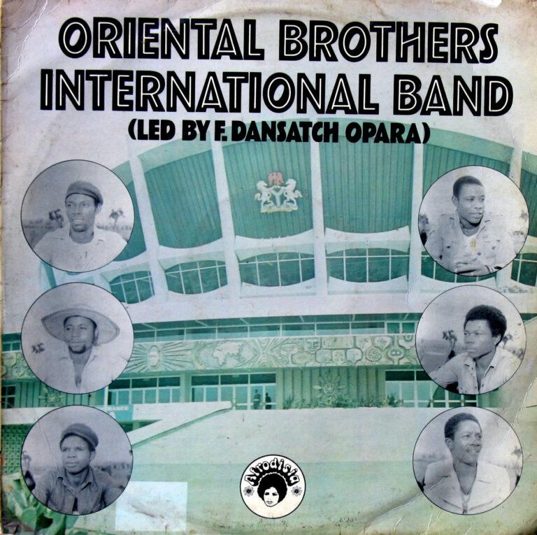 Oriental Brothers International Band – S/T : 70's NIGERIAN Highlife Soukous Music ALBUM LP