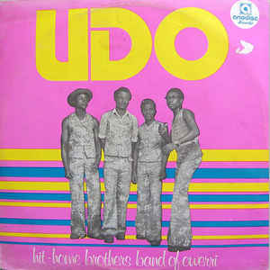 Hit-Home Brothers Band Of Owerri – Udo 70s NIGERIAN Highlife Music Album LP
