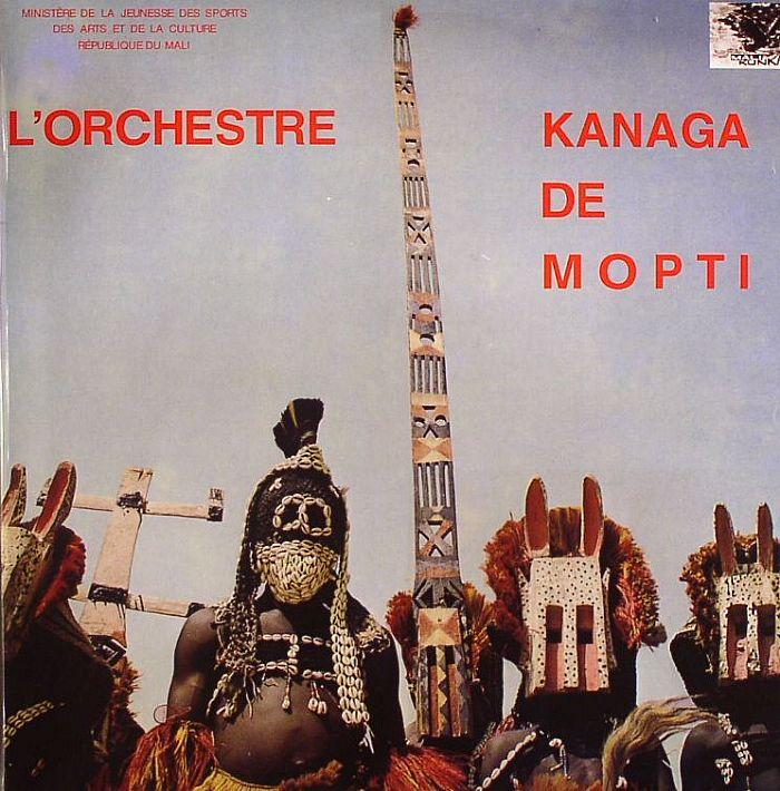 L'Orchestre Kanaga De Mopti – L'Orchestre Kanaga De Mopti : MALI Folk Music ALBUM LP