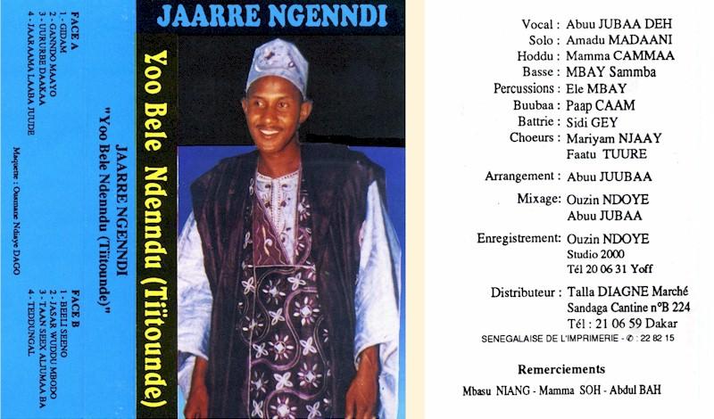 Abou Diouba Deh – Yoo Bele Ndenndu (Tiïtounde) (Talla Diagne): SENEGAL Folk Music ALBUM LP
