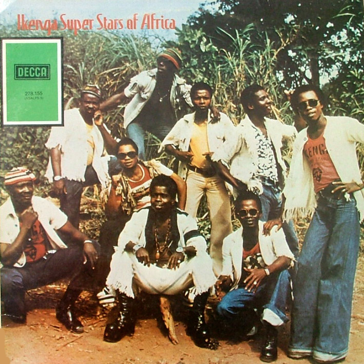 Ikenga Super Stars Of Africa – Greedy Man : 70's NIGERIAN Highlife Folk Music ALBUM LP