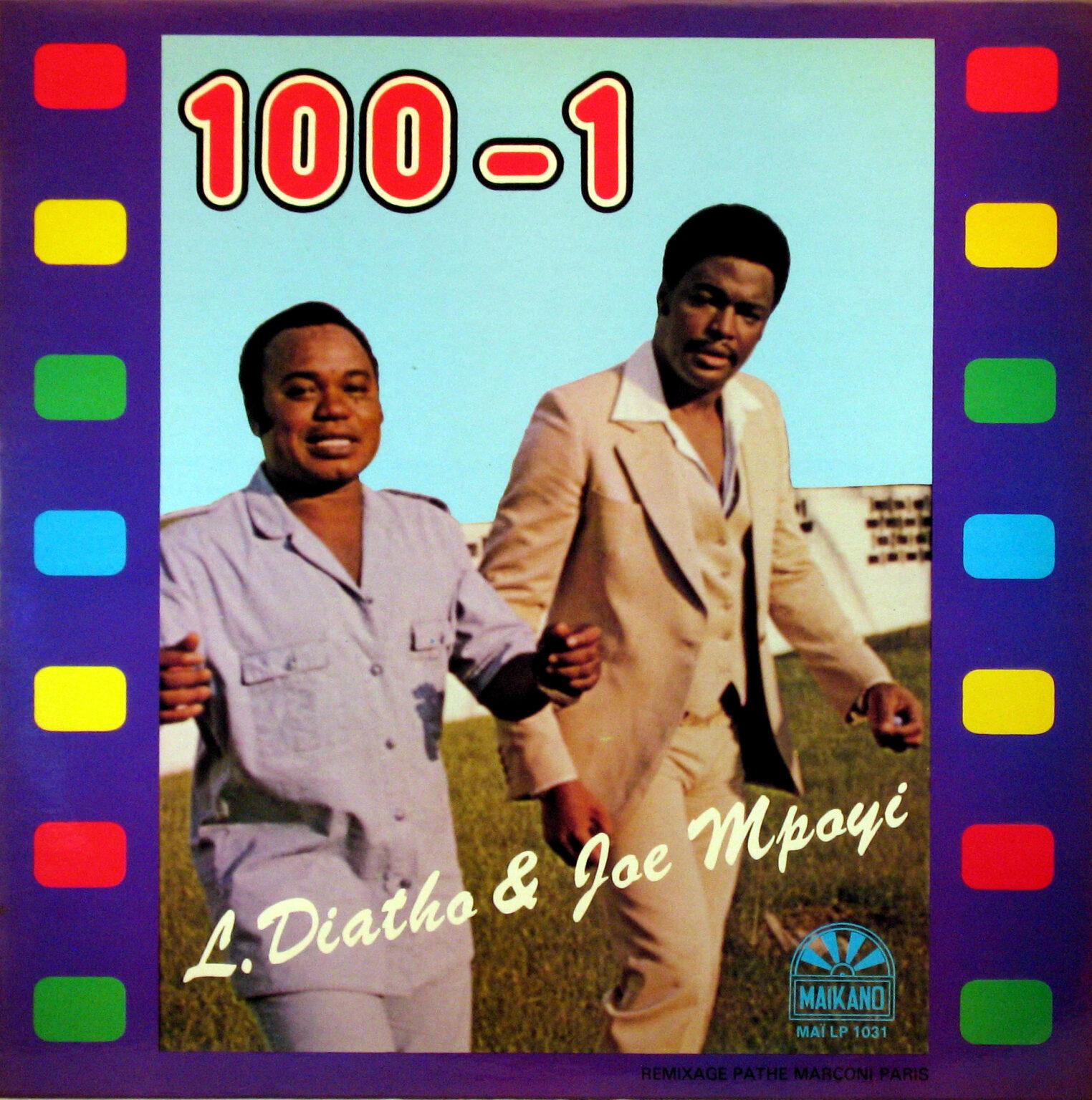 L. Diatho & Joe Mpoyi – 100-1 : 80's CONGOLESE Soukous Rumba Music ALBUM LP