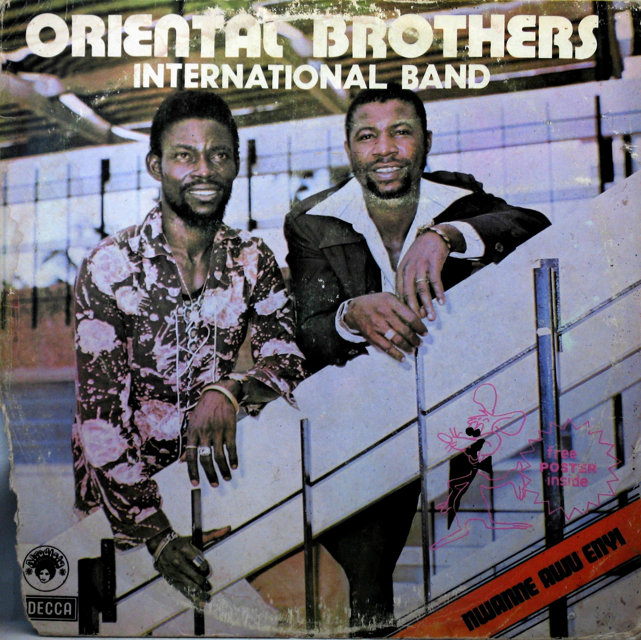 Oriental Brothers International Band – Nwanne Awu Enyi : 70's NIGERIAN Highlife Folk Music ALBUM LP