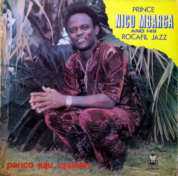 Prince Nico Mbarga And His Rocafil Jazz – Panco Juju System 80's NIGERIAN Highlife Folk Music ALBUM LP