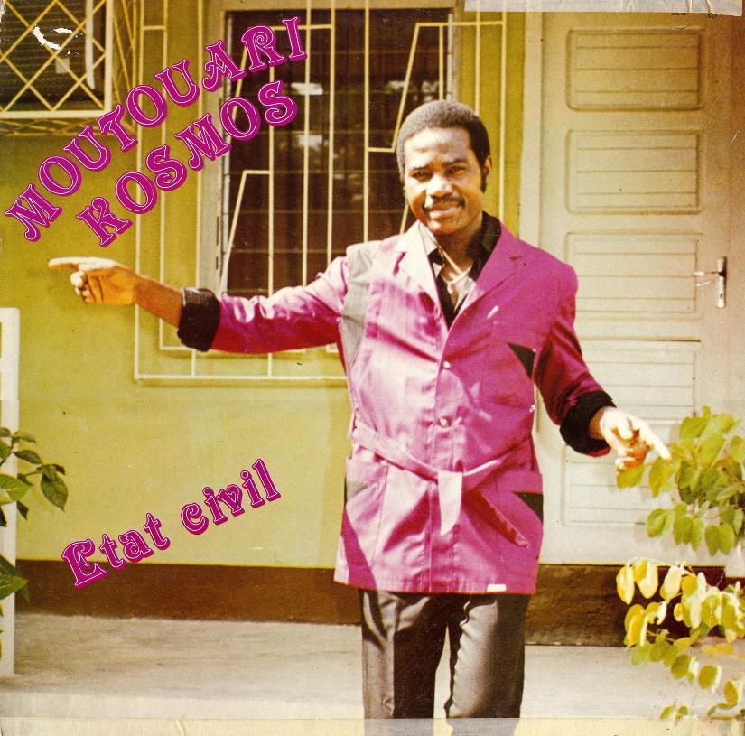 Kosmos Moutouari – Etat Civil : 80's CONGOLESE Soukous Rumba Music ALBUM LP