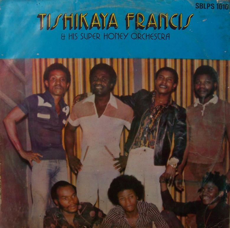 Tishikaya Francis & His Super Honey Orchestra – S/T : 70's NIGERIAN Highlife Soukous Music ALBUM LP