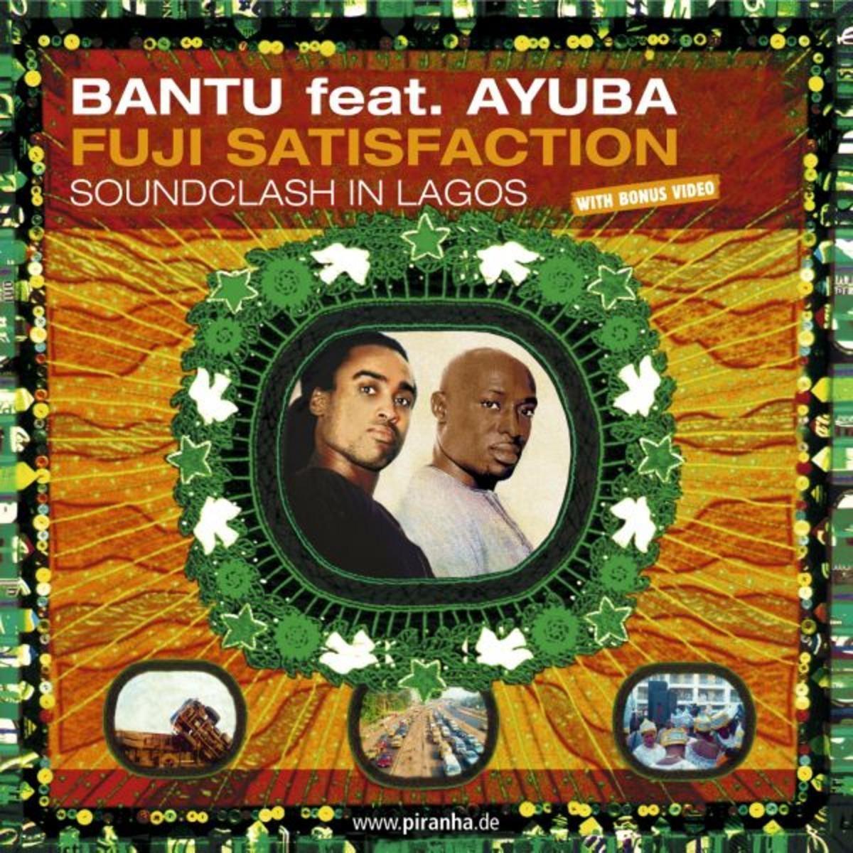 Adé Bantu Adewale Ayuba – Fuji satisfaction : NIGERIAN Folk Music ALBUM LP