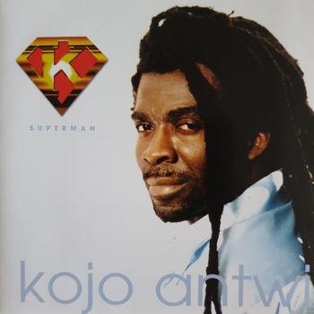 Kojo Antwi – Superman : GHANAIAN Reggae Pop Music ALBUM LP
