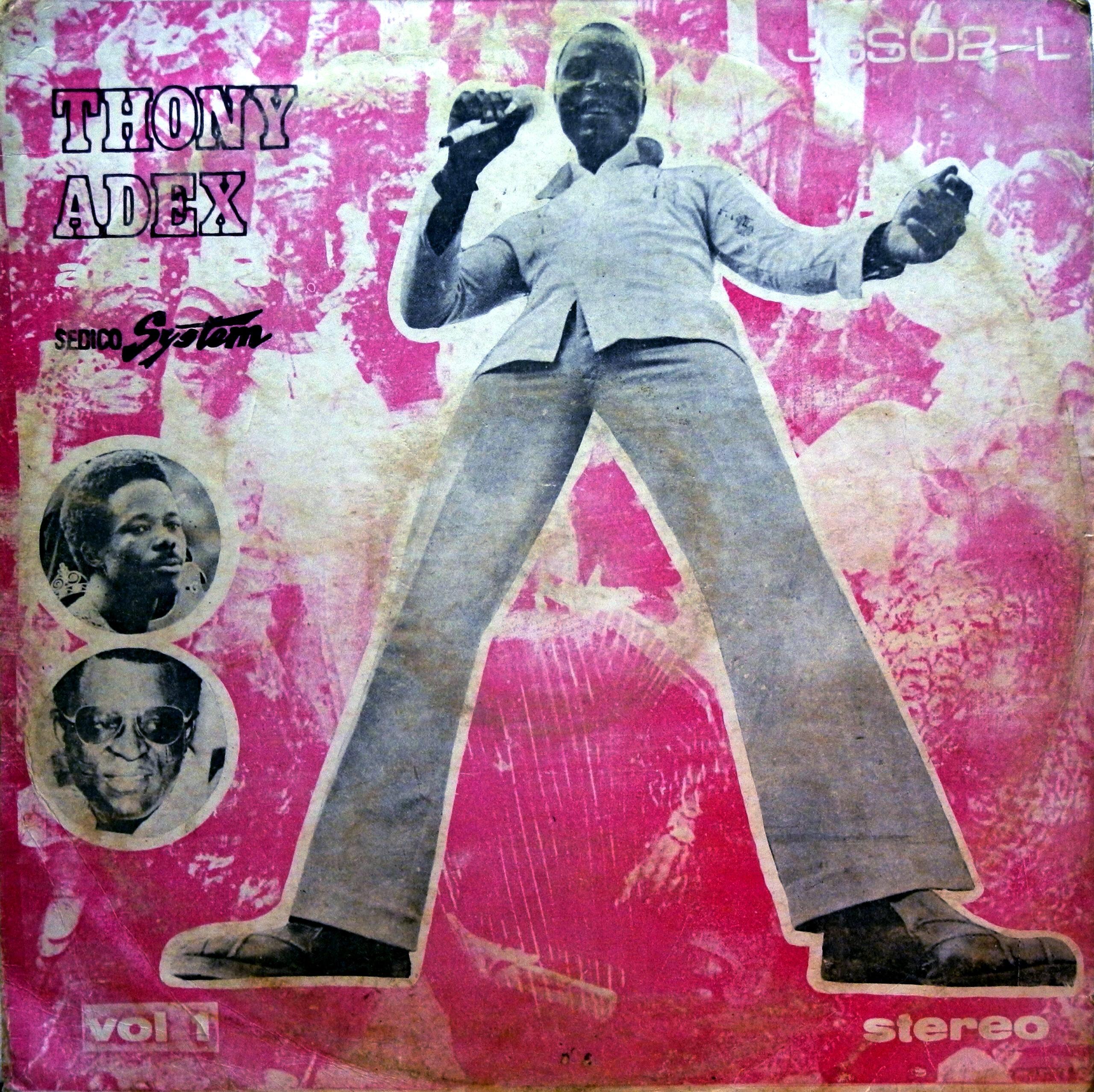 Thony Adex And His Sedico System – Vol. 1 70's NIGERIAN Yoruba Juju Music ALBUM LP