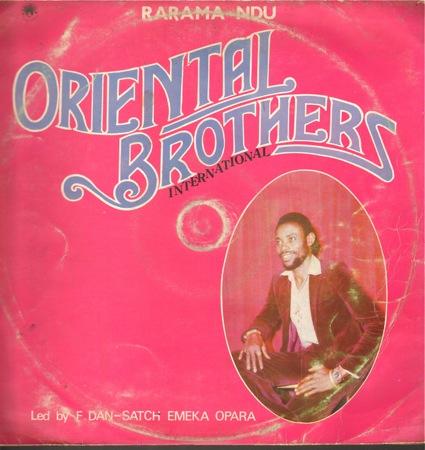 Oriental Brothers International – Rarama Ndu 80's NIGERIAN Highlife Music ALBUM LP